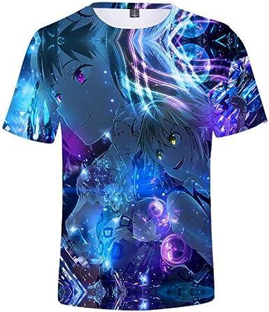 Los Siete Pecados Mortales Impresión 3D T-Camisa,Anime Pritned Manga Corta T-Camisetas,Unisex: Amazon.es: Ropa y accesorios