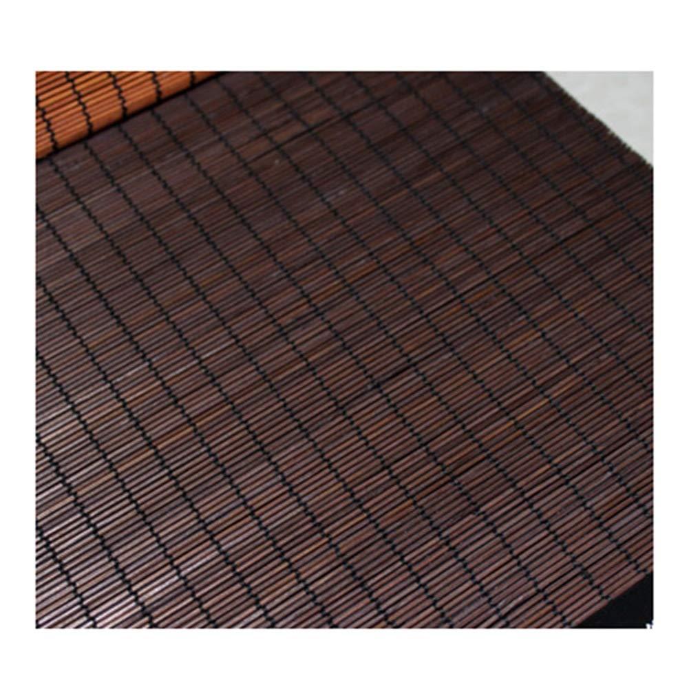CAIJUN 竹ブラインド 竹 ールカーテン 通気性 和風 日焼け止め アンチUV デコレーション リフトタイプ、 3色、 カスタムサイズ (Color : B, Size : 160x220cm) 160x220cm B B07T4ZXLPK