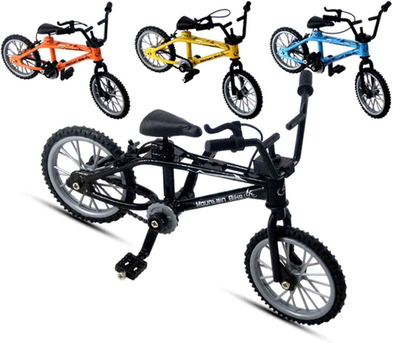 SZXCX Mini-Finger-BMX Set Appassionati di Bici Giocattolo Dito in Lega BMX Funzionale Modello di Bicicletta per Bambini Finger Bike Eccellente qualit/à BMX Giocattoli Regalo Arancione