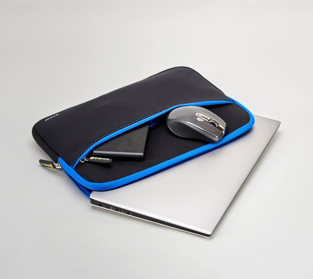 Evecase Borsa per portatile 11,6/pollici Nero e blu Colore Custodia per Tablet o Portatile