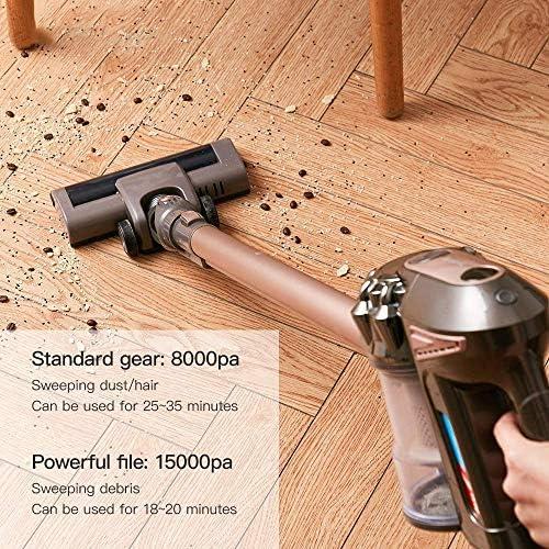 Ultra Aspirateur silencieux vertical vertical/HandHeld Aspirateurs Aspirateur 15000Pa de forte puissance for la maison LMMS