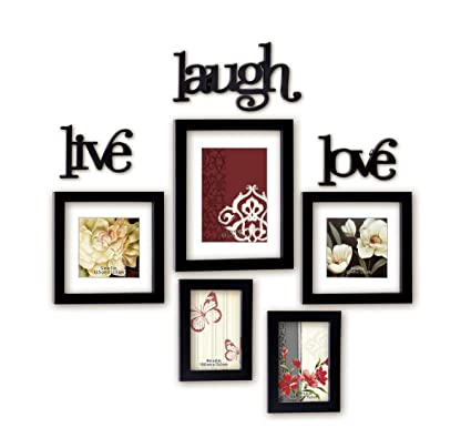 Buy @Home Live Laugh Love Plastic Photo Frame (17.3 cm x 12.6 cm x ...