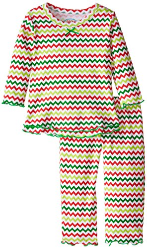 Saras Prints Girls Ruffle Pajama