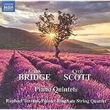 Bridge/Scott:Piano Quintets [Raphael Terroni; Bingham String Quartet] [NAXOS: 8571355]
