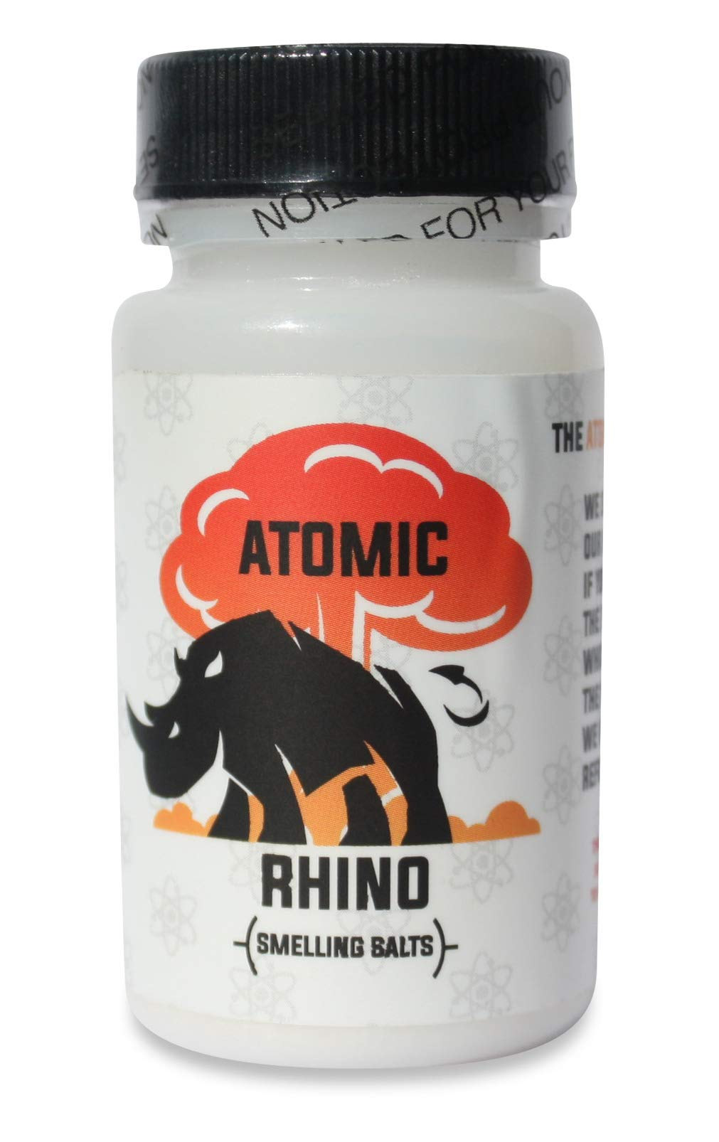 Atomic Rhino | Smelling Salts for Athletes | 100's Of Uses per Bottle | Explosive Workout Sniffing Salts for Massive Energy Boost | Just Add Water to Activate Pre Workout by ATOMIC RHINO