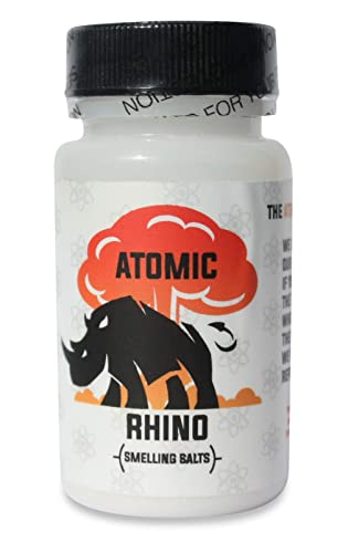 Atomic Rhino Smelling Salts 100's of Uses per Bottle Just Add Water to Activate