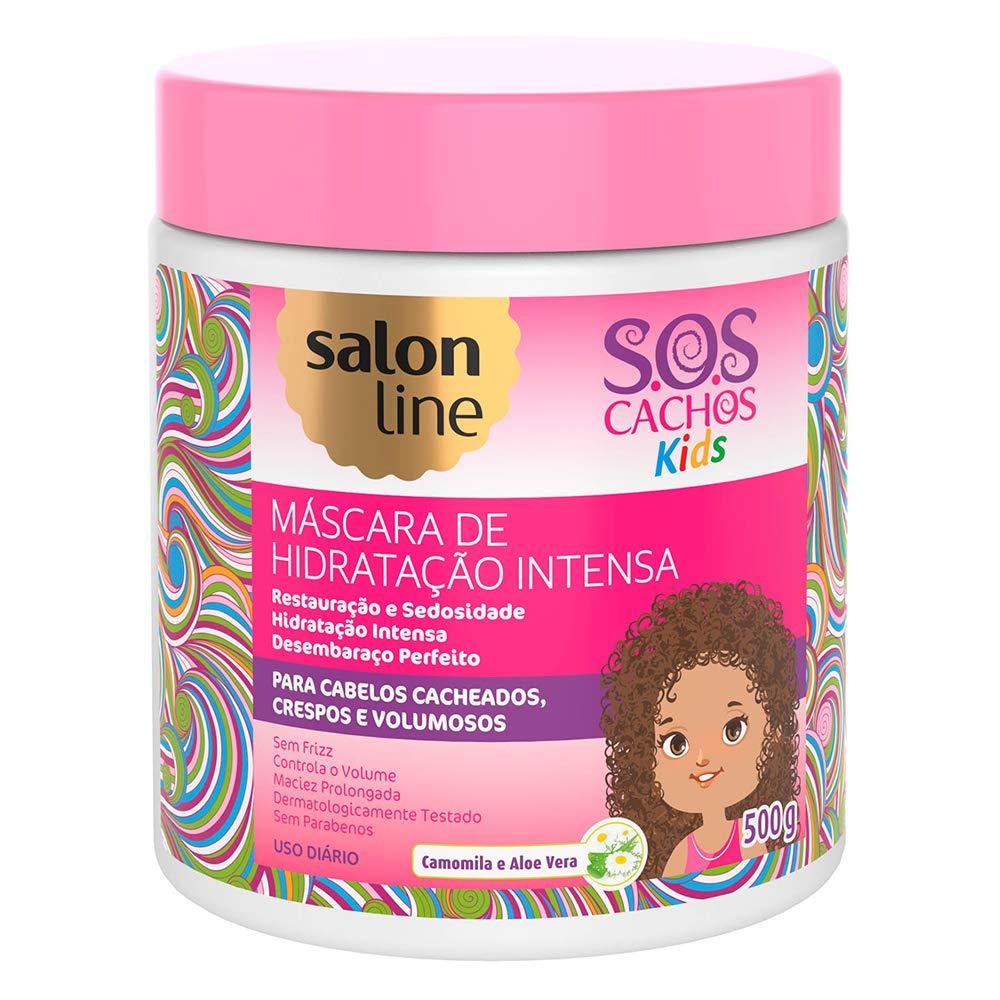 Linha Tratamento (SOS Cachos) Salon Line - Mascara Kids 500 Gr - (Salon