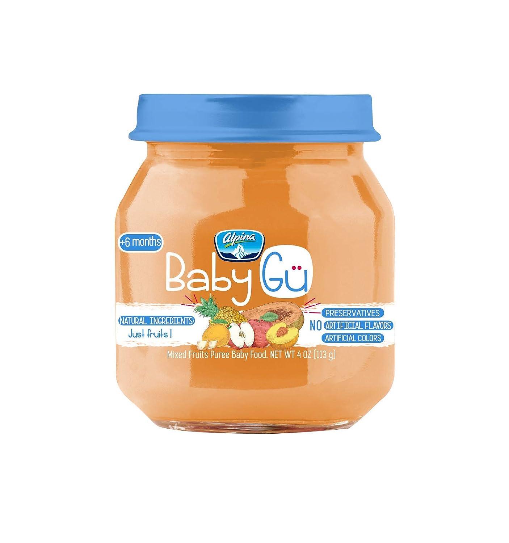 Alpina Baby food Gu Mixed Fruits Pack of 24