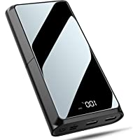 Bewahly Batería Externa 20000mAh, USB C 18W PD Carga Rápida Power Bank Cargador Portátil, Bateria Portatil para Movil…