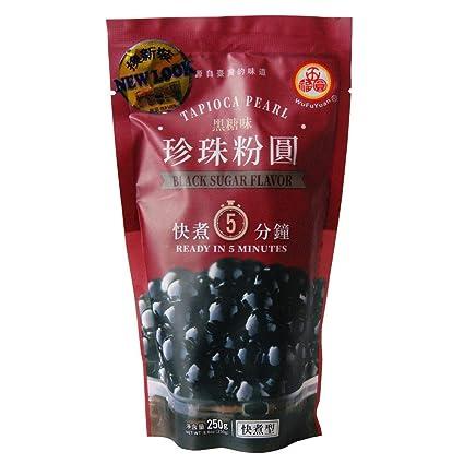 250g WuFuYuan Black Tapioca Pearl