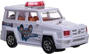 سيارة البوليس من باو باترول ZD3080, ابيض