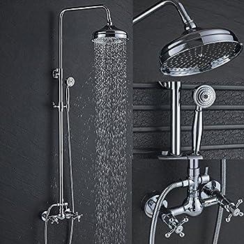 PULSE Showerspas 1011-CH Kauai III Retro-Fit Rain Shower
