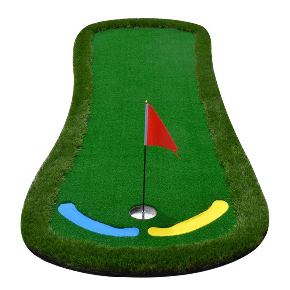 ゴルフパッティンググリーンシステムプロフェッショナル PracticeThicker より広い表面長い挑戦パター屋内/屋外ゴルフシミュレータートレーニングマットエイド機器 3.3 * 10 フィート PuttingGreen  B07M8M2FVZ