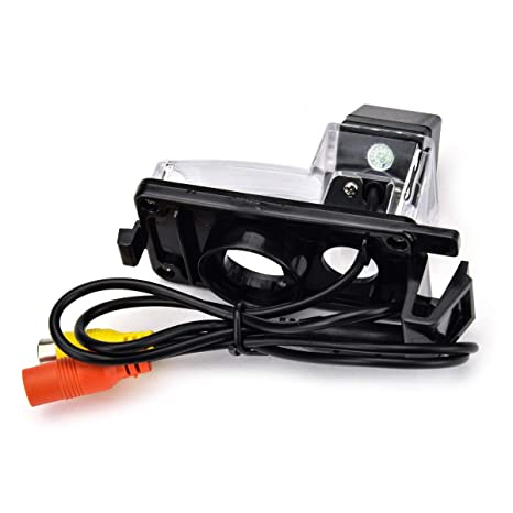 Amazon.com: aSATAH 8 LED Car Rear View Camera for Nissan ...