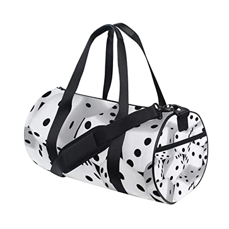Amazon.com : LONSANT Large Black and White 3D Dice Barrel ...