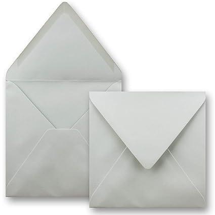 con cierre engomado Sobres Serie FarbenFroh/® cuadrados sin ventanilla de 155 x 155 mm para tarjetas de boda color 17-Nachtblau 75 Umschl/äge invitaciones y mucho m/ás