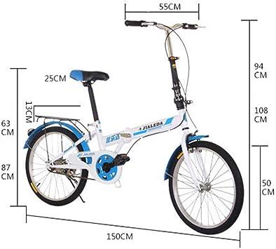 GRXXX Velocidad Variable Bicicleta Plegable Bicicleta de Carretera ...