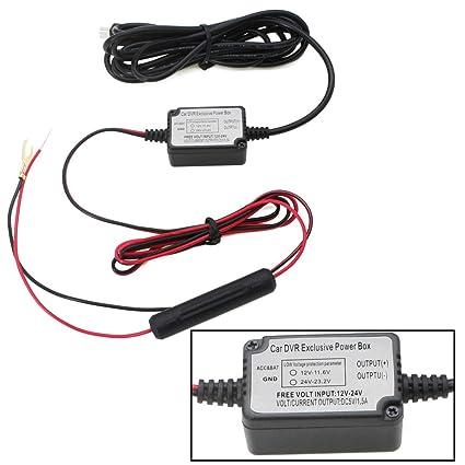 Dash Cam Hard Wire Kit Mini USB,Built-in Fuse 5V: Amazon.co.uk ...