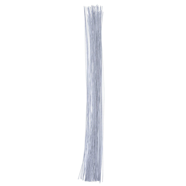 100 Stück Stem Draht Gauge Blumendraht 26 Swg (0,5 mm) 14 Zoll, Dunkelgrün Dunkelgrün eBoot