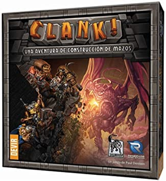 Devir - Clank, juego de mesa (BGCLANK): Amazon.es: Juguetes y juegos