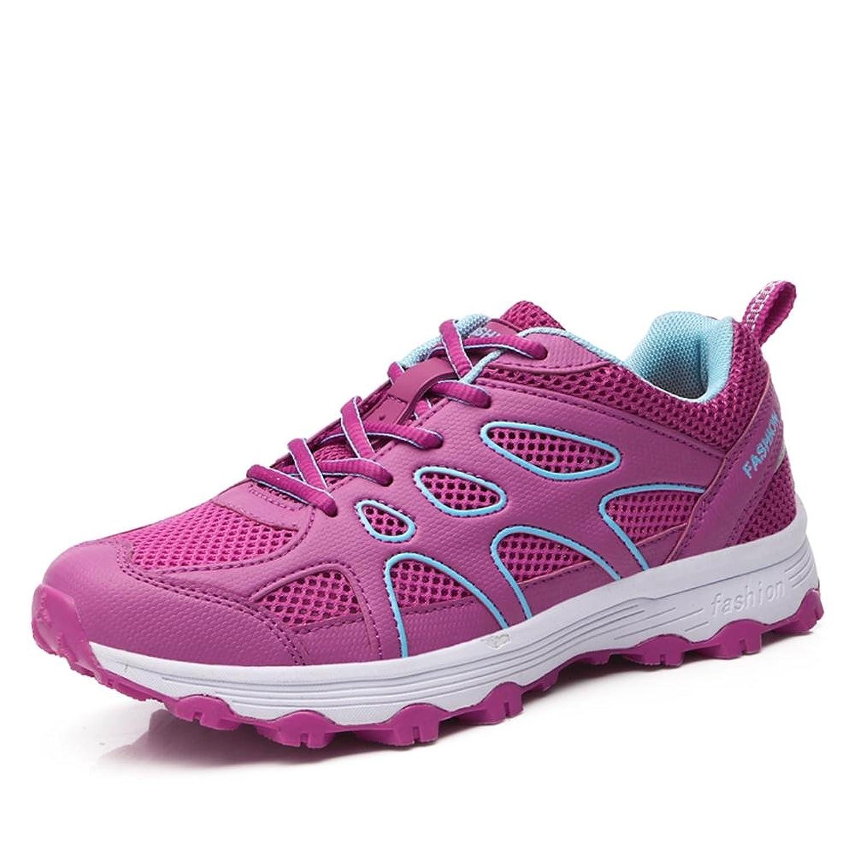 Suetar Mesdames Mode Maille Chaussures de Sport Baskets Respirantes d'été Chaussures de Trekking Légères et antidérapantes pour Femmes ZHRyBeWAsJ