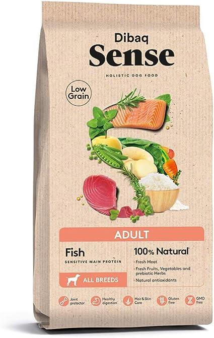 Dibaq Sense Low Grain Adult Fish. Alimento 100% Natural con ...