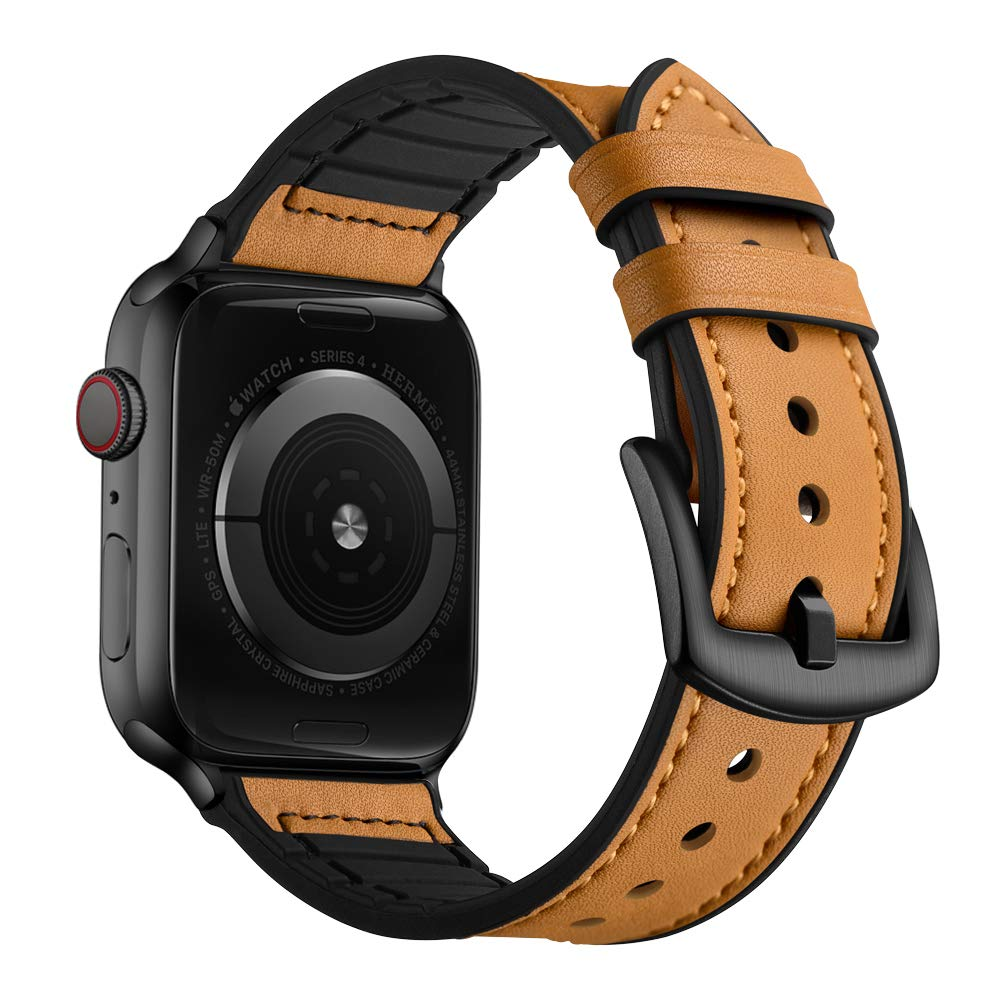 Malla Cuero Para Apple Watch (42/44mm) Ouheng [7wgy65hb]