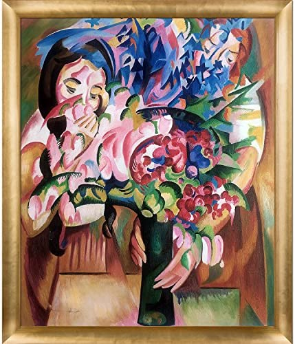 overstockArt Framed Oil Reproduction Flowers and Figures by Alice Bailly 30 x 26 / overstockArt Framed Oil Reproduction Flowers and Figures by Alice Bailly 30 x 26