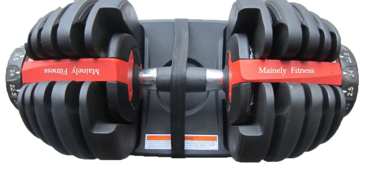 Mainely Fitness Adjustable Dumbells (Set of 2)