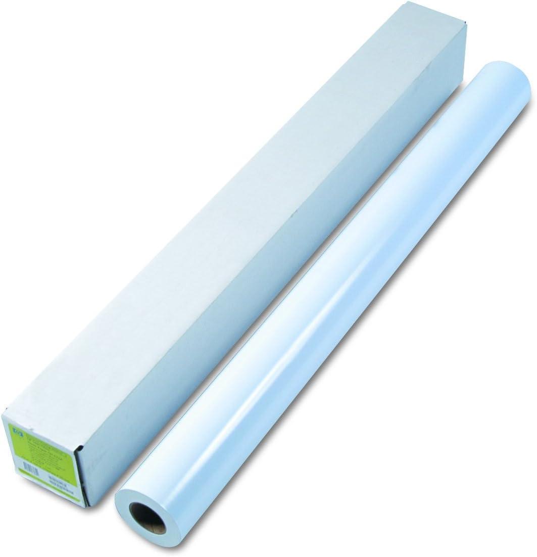 "HP Q1422B Designjet Inkjet Large Format Paper, 42"" x 100 ft, White"