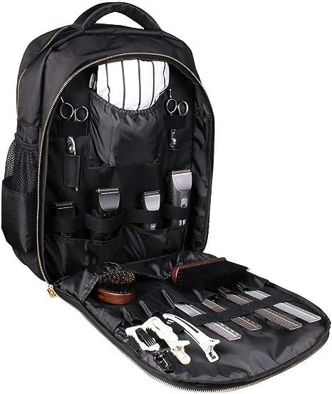 Xjzhang Carry Friseur Grooming Werkzeugtasche Rucksack For Barber Werkzeuge For Outdoor Reisen Bewegliche Wasserdichte Grosse Toolbag Amazon De Sport Freizeit
