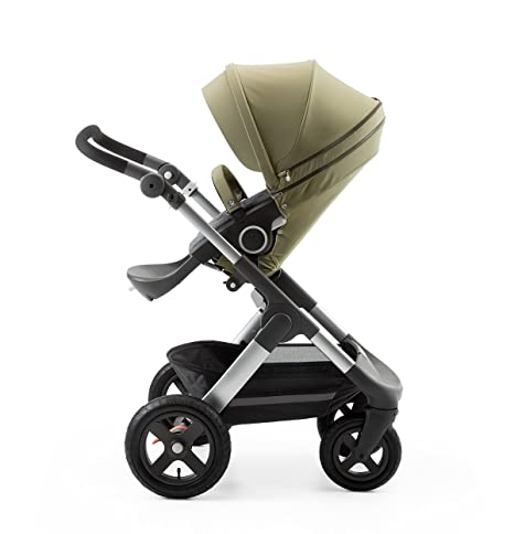 Stokke Stroller Seat Style Kit Solid Olive by Stokke: Amazon.es: Bebé