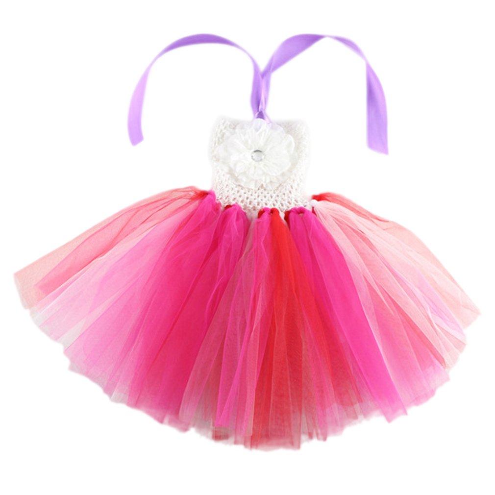 EOZY-Vestito Estivo Danza Bambina Tutu Arcobaleno Abito Bimba  Amazon.it   Sport e tempo libero 9be0a7e963f