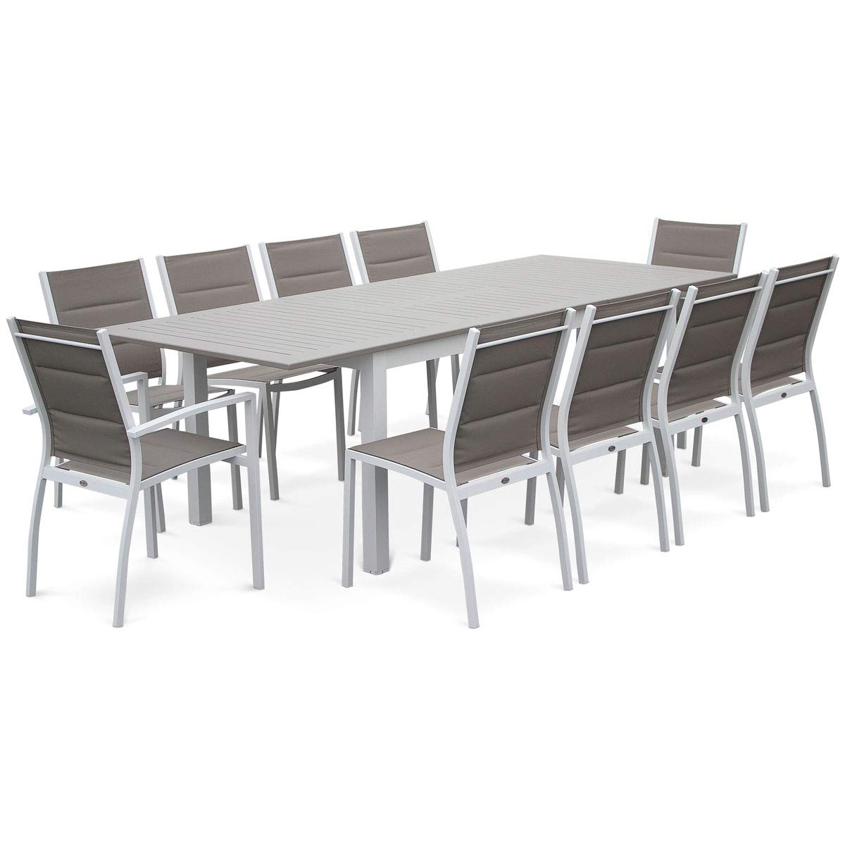 Amazon.de: Alice \'s Garden - Lounge-Garten Tisch ausziehbar ...