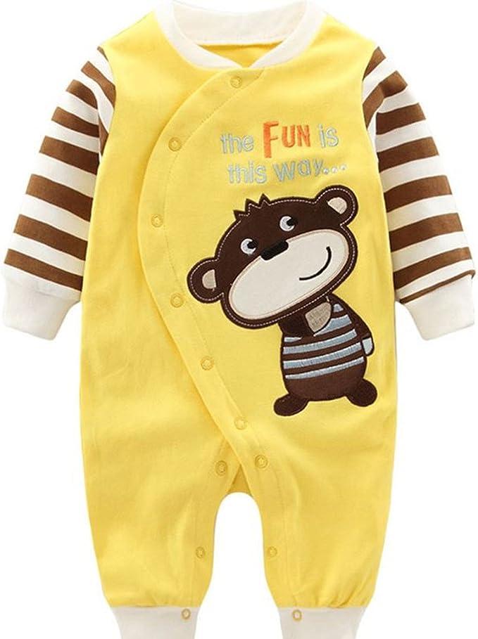 Baby Erstausstattung Jungen Strampler Schlafanzug