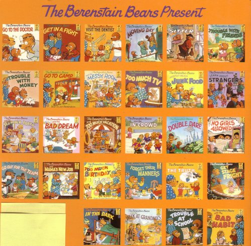 Set of 5 Berenstain Bears Books: Bedtime Battle, The Berenstain Bears and the Big Blooper, Trouble With Friends, Get the Gimmies, Go Out For the Team (The Berenstain Bears)