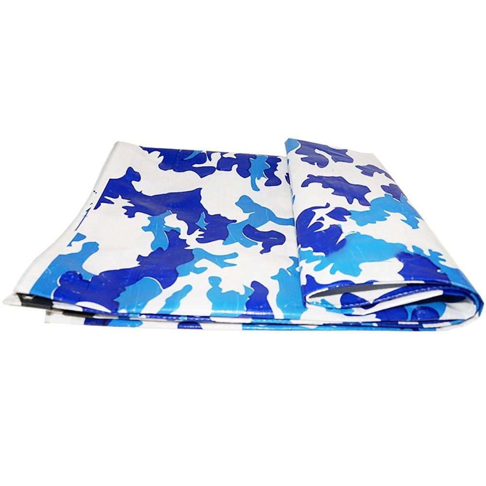 JNYZQ Camouflage-Plane-Wasserdichte Hochleistungs-mit Eyelet-Plane-Deckung Tarp-regendichter Stoff (größe   5  8m)