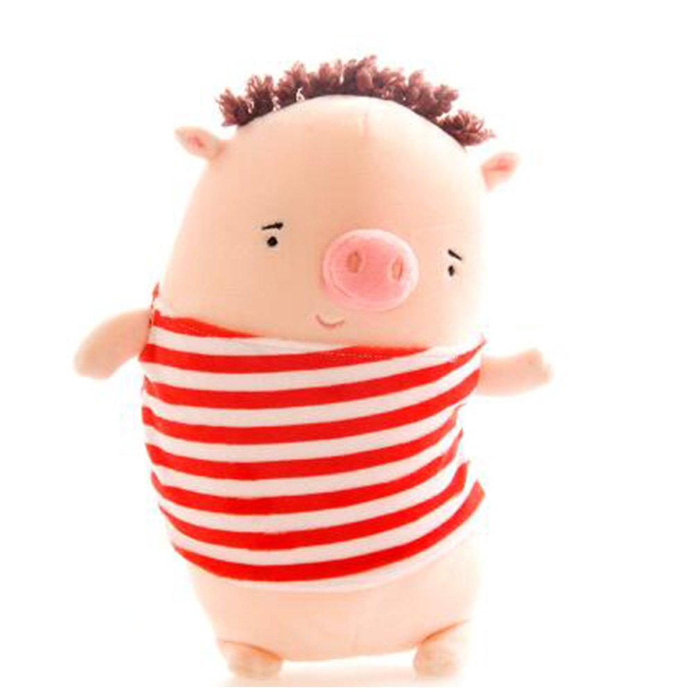 Wukong 15.6'' Creative Gifts Cute Little Pig Plush Toy Doll (Red)
