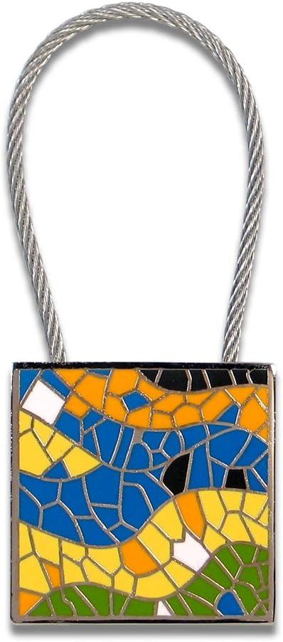 KAG01KR ACME Studios Mosaic Key Ring by Antoni Gaudi