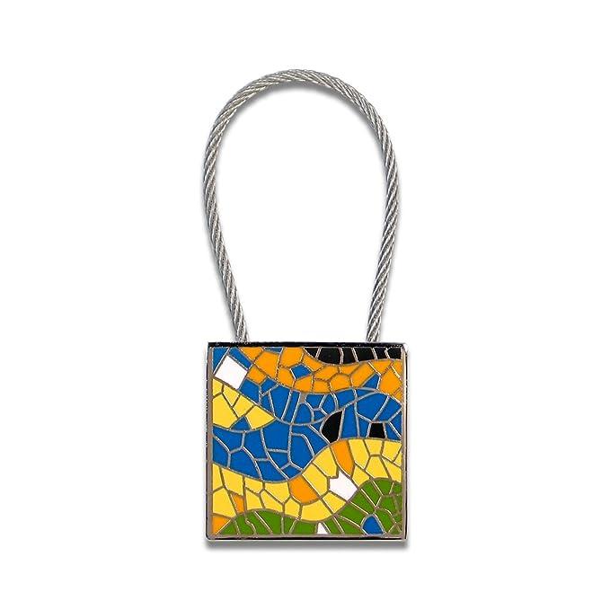 Amazon.com: Acme Studio mosaico Llavero por Antonio Gaudi ...
