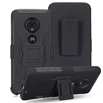 Cocomii Bionic Armor Motorola Moto G7 Power Funda NUEVO [Robusto] Superior Funda Clip Para Cinturón Soporte Antichoque Caja [Militar Defensor] Cuerpo ...