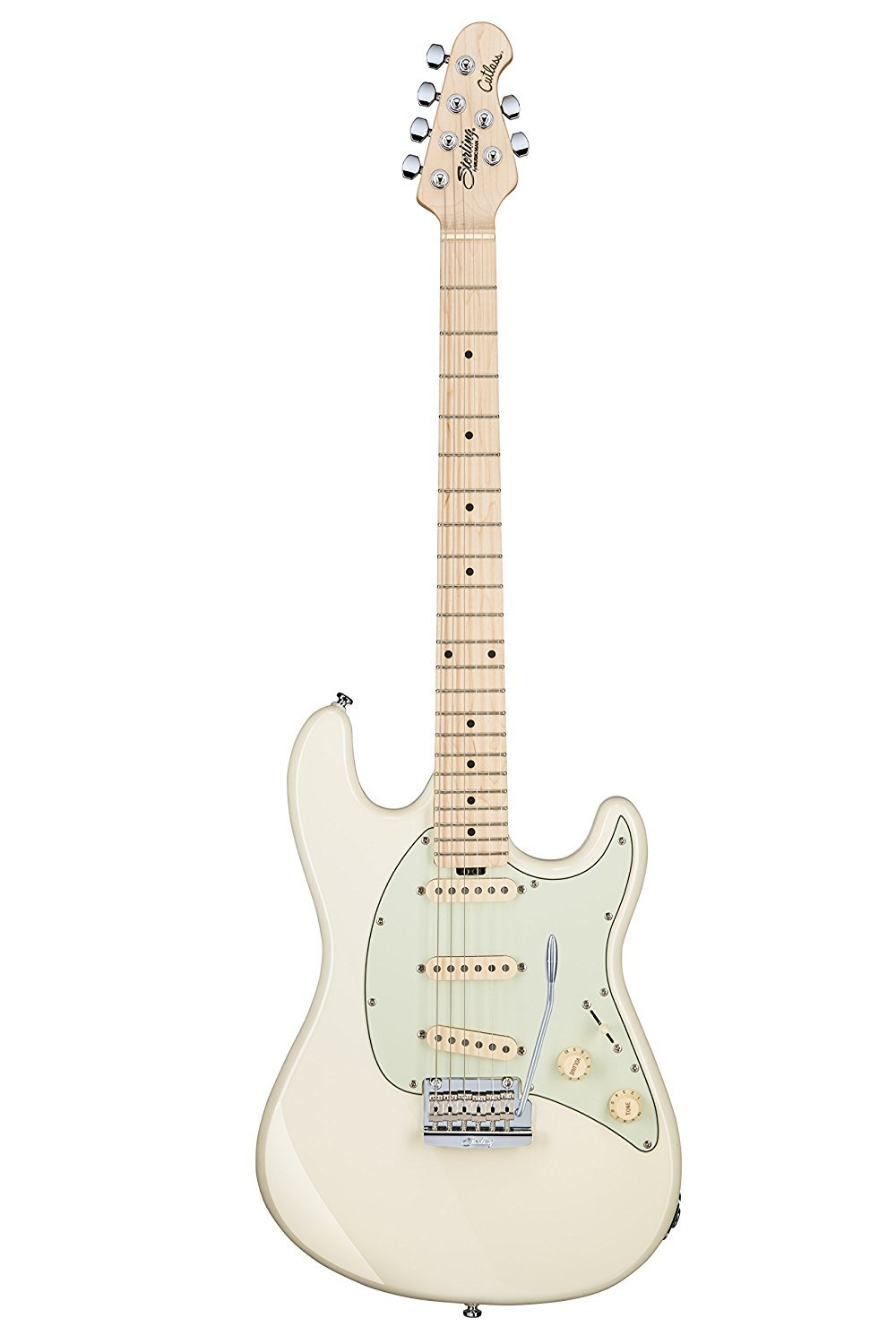 Sterling by Music Man Cutlass CT50 Electric Guitar, Olympic White