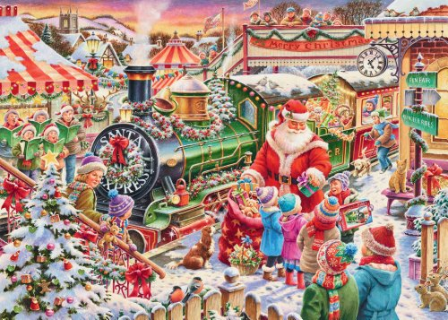 Amazon.com: Ravensburger Christmas 2013 Limited Edition The Santa ...
