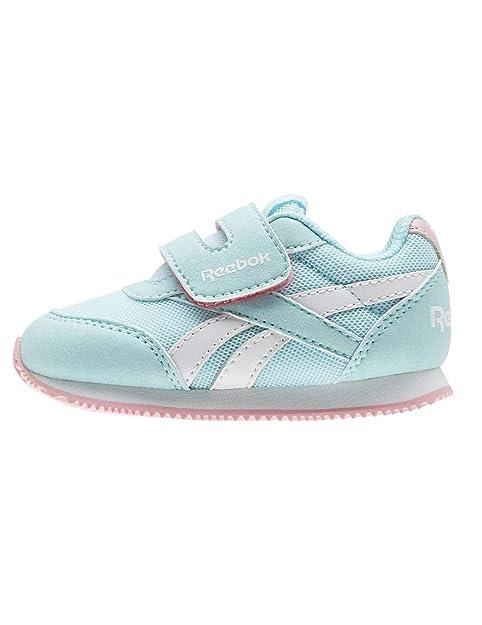 Zapatillas de Niña Reebok Royal CLJOG 2 KC Celeste 24 Azul: Amazon.es: Zapatos y complementos