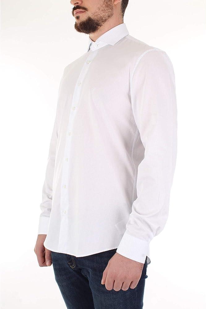 Calvin Klein K10K103191 Camisa Hombre Celeste 43: Amazon.es: Ropa y accesorios