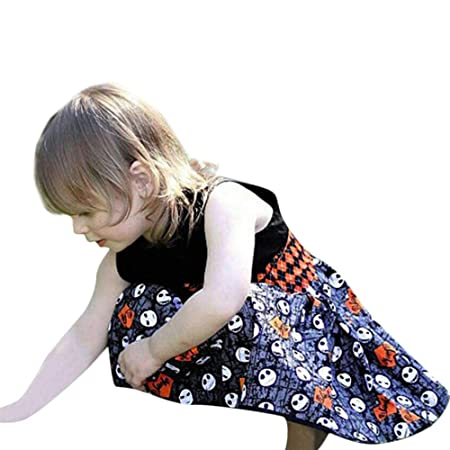 2b74b1f338 Amazon.com: Toddler Girl Princess Dress,Infant Baby Girls Cartoon Bow Party  Dress Halloween Clothes Dresses (0-12 Months, Black): Beauty