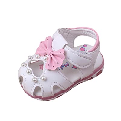 78eb463520ec1 Chaussures de Bébé Sandales Été Amlaiworld Bébé Sneaker de Mode Sandales  Bowknot