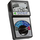 Electric Field, Radio Frequency (RF) Field, Magnetic Field Strength Meter by Trifield – EMF Meter Model TF2 – Detect 3 Types
