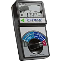 Electric Field, Radio Frequency (RF) Field, Magnetic Field Strength Meter by Trifield – EMF Meter Model TF2 – Detect 3…