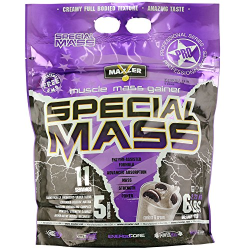 MAXLER Special Mass Gainer, Cookies & Cream, 6-Pound